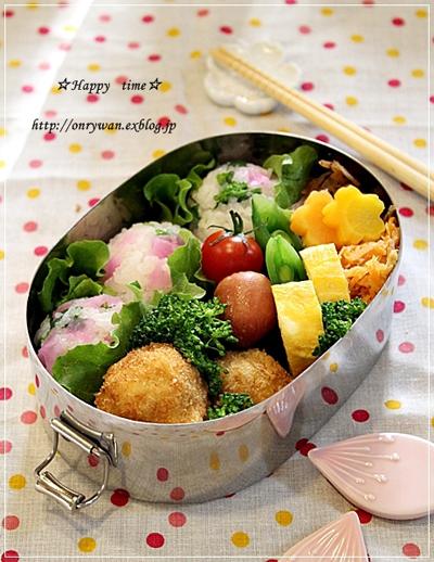 みんなのすてきなお花見弁当&春の料理!_f0357923_17245734.jpg