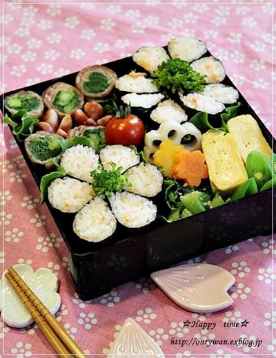 みんなのすてきなお花見弁当&春の料理!_f0357923_17282599.jpg