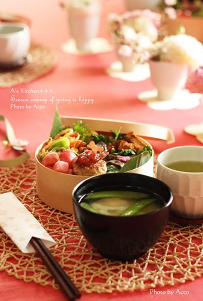 みんなのすてきなお花見弁当&春の料理!_f0357923_17361712.jpg