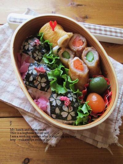 みんなのすてきなお花見弁当&春の料理!_f0357923_17364626.jpg