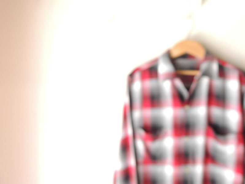 60S70S RAYON SHADOW CHECK SHIRT--RECOMMEND--_c0176867_17423846.jpg
