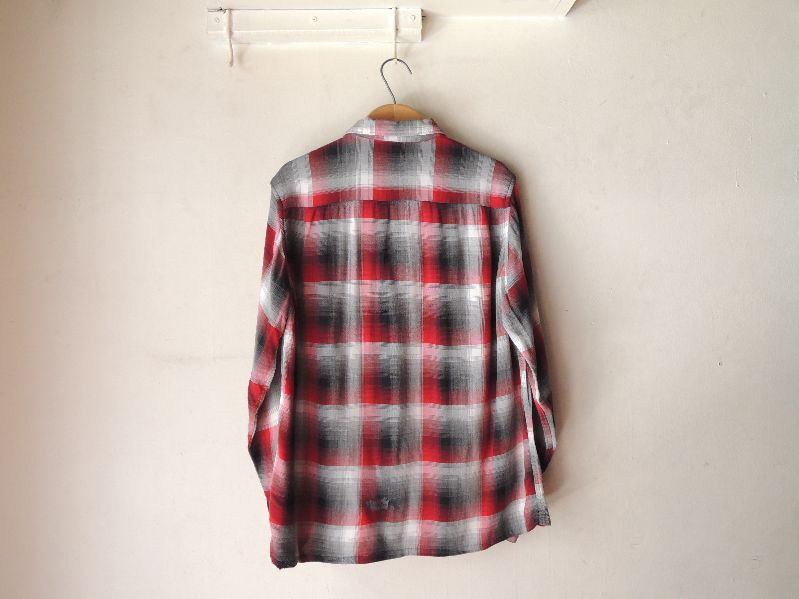 60S70S RAYON SHADOW CHECK SHIRT--RECOMMEND--_c0176867_17433472.jpg