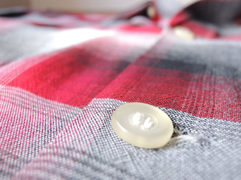 60S70S RAYON SHADOW CHECK SHIRT--RECOMMEND--_c0176867_175613100.jpg