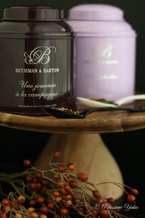 paris 私のお気に入り ~紅茶編~ 「Betjeman&Barton紅茶缶」_c0138180_1322658.jpg