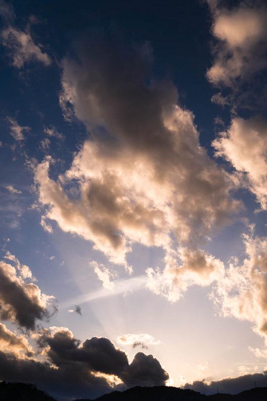 ここ数日の夕空。。。_f0189086_20285541.jpg