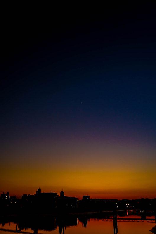 ここ数日の夕空。。。_f0189086_20312213.jpg