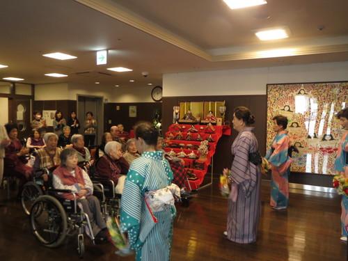 「お茶・踊りの会」開催させて頂きました_a0158095_1742936.jpg