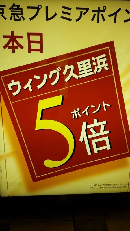 京急ウイング久里浜  京急ポイント5倍セール 平成27年3月27日28日_d0092901_21501632.jpg