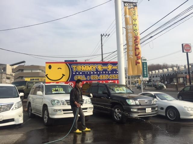 3/27(金)山本&店長&細川が送ります♪TOMMYの1日 ランクル アルファード ハマー_b0127002_20192452.jpg