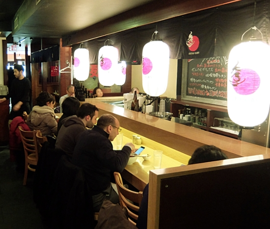 NYで人気の本場博多の豚骨ラーメン「秀ちゃんラーメン」 Hidechan Ramen _b0007805_22524041.jpg