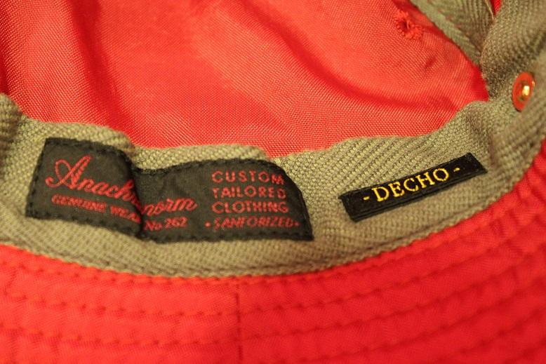 "ANACHRONORM \""HAT & SHIRTS\"" ご紹介_f0191324_925375.jpg"