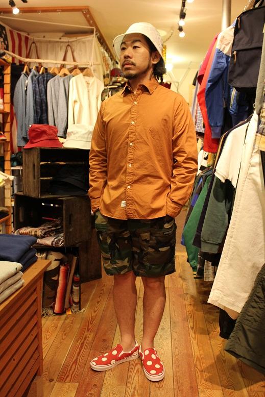 "ANACHRONORM \""HAT & SHIRTS\"" ご紹介_f0191324_9272829.jpg"