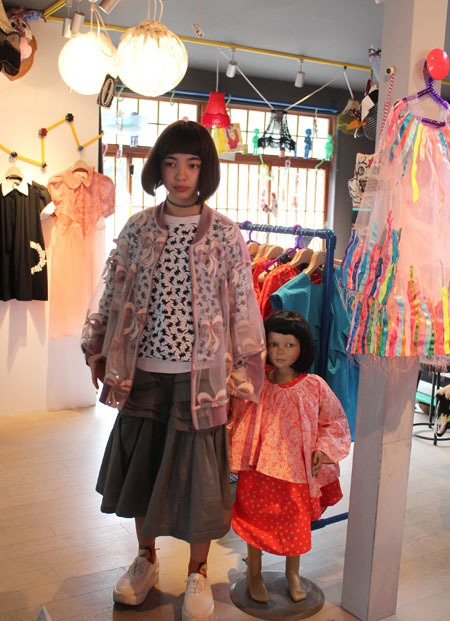 MIKIO SAKABE♡Jenny fax 2015 SS 着てみた n゜3_a0262845_16380564.jpg