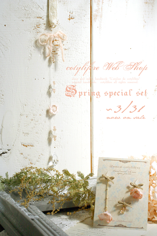 web shop* 《Spring Fair 〜3/31》スペシャルセット、3セット追加!_e0073946_9571654.jpg