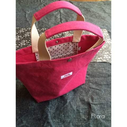 ピンク帆布のちょこっとトートと3月の納品_c0247253_14172067.jpg