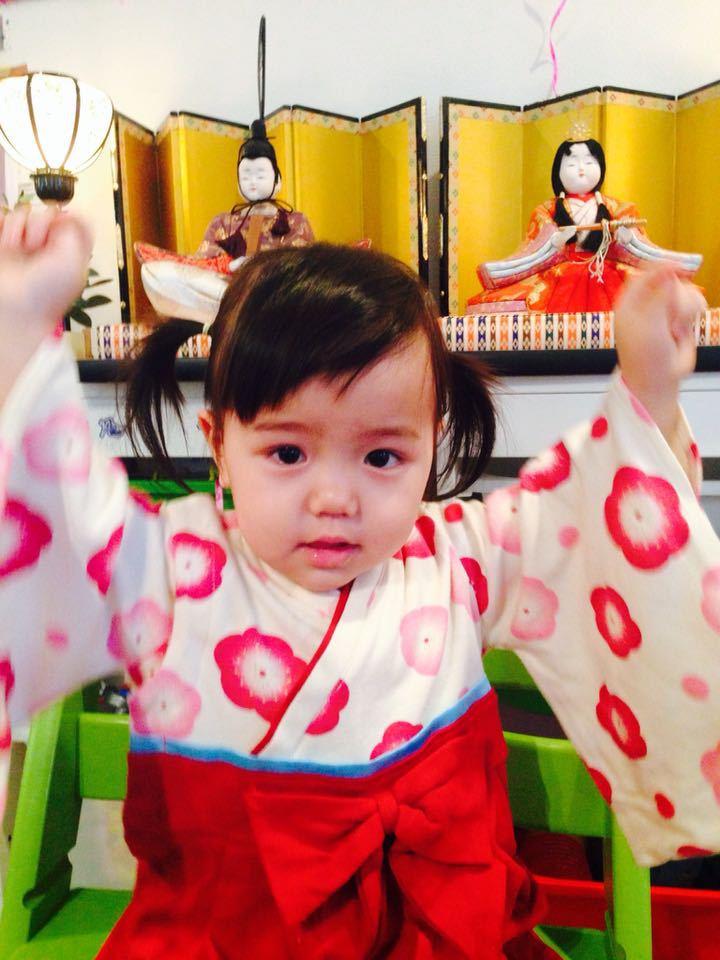 みつき1歳5ヶ月〜祝ひな祭り!_e0253026_829868.jpg