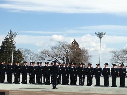 『 第76期 消防職員初任教育 卒業査閲 』_f0259324_2223862.jpg