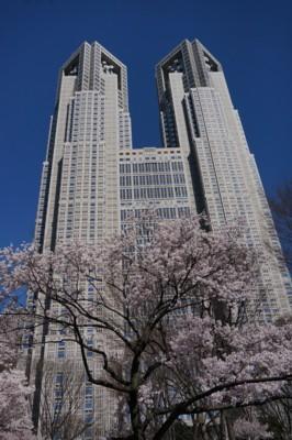 超高層ビル街の春_f0055131_9135660.jpg