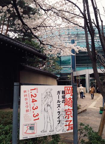 3/29 世田谷文学館 「岡崎京子展」での出来事_d0156336_23562746.jpg