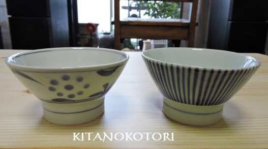 くらわんか茶碗 と 竹製のトンク_c0341450_1775352.jpg