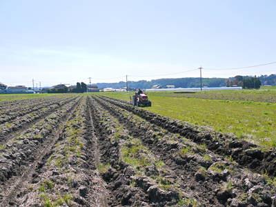 七城米 長尾農園 「天地返し」で深くまで強い根をはる田んぼ作り!_a0254656_19101063.jpg