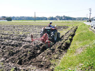 七城米 長尾農園 「天地返し」で深くまで強い根をはる田んぼ作り!_a0254656_19302919.jpg