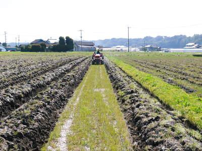 七城米 長尾農園 「天地返し」で深くまで強い根をはる田んぼ作り!_a0254656_1934577.jpg