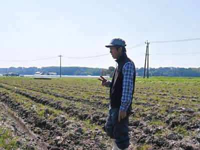 七城米 長尾農園 「天地返し」で深くまで強い根をはる田んぼ作り!_a0254656_19413872.jpg