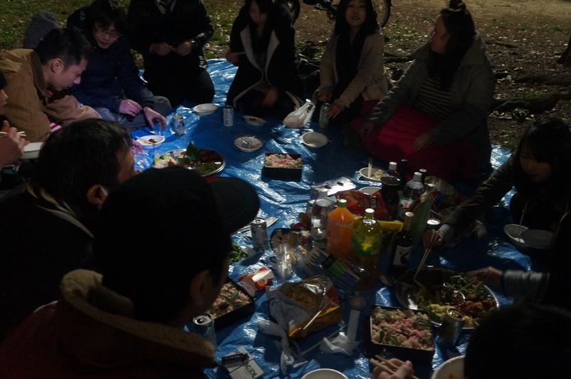 3年ぶり(たぶん)のお花見!in福岡_e0206865_1551919.jpg