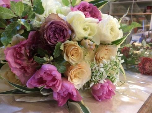 送別のお花が続きます_b0137969_10271332.jpg