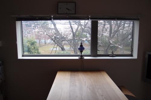 我が家の自慢の窓と休日楽ちん冷え取りファッション15 3/29_c0342582_16350709.jpg