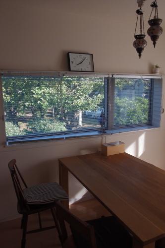 我が家の自慢の窓と休日楽ちん冷え取りファッション15 3/29_c0342582_16521968.jpg