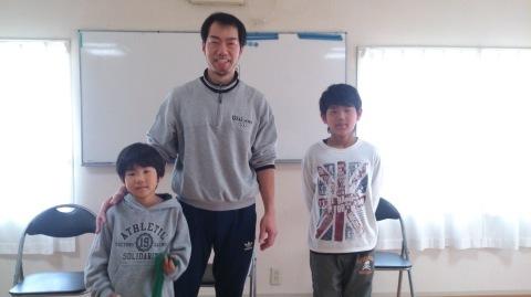 久しぶりに3人そろいました~!(^o^)/_d0191262_21255480.jpg