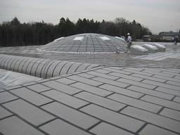 某研究所金属屋根防水工事(つくば市)_c0183605_23134796.jpg