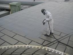 某研究所金属屋根防水工事(つくば市)_c0183605_23135649.jpg