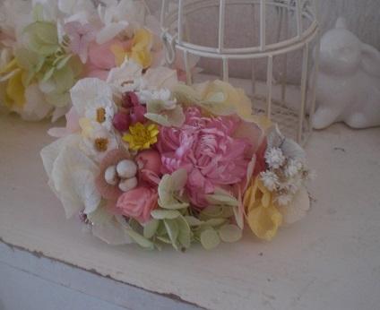 入学式結婚式☆ナチュラルカラーコサージュ_c0207719_1812577.jpg