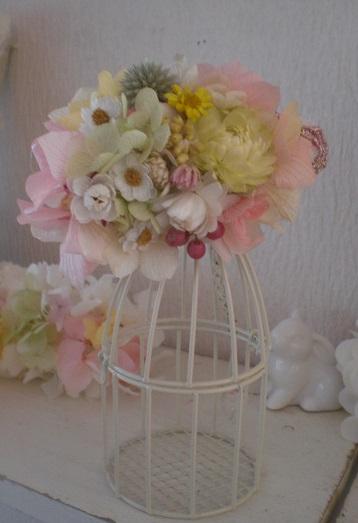 入学式結婚式☆ナチュラルカラーコサージュ_c0207719_18131751.jpg