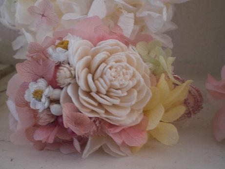 入学式結婚式☆ナチュラルカラーコサージュ_c0207719_1813657.jpg