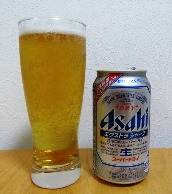 アサヒ スーパードライ エクストラシャープ~麦酒酔噺その336~特徴伸ばすと。。_b0081121_6143152.jpg