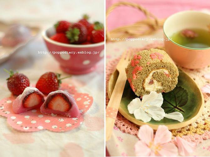 お花見にぴったり!みんなの春スイーツがキュート!_f0357923_16004387.jpg