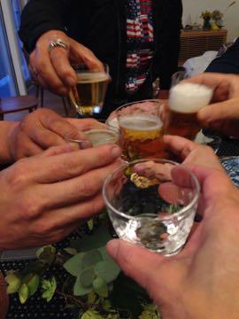 週末のお客さま ② 日本酒の会なのだ_e0134337_13104436.jpg
