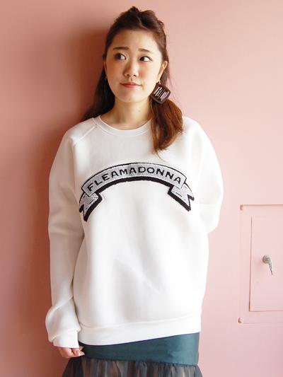 fleamadonnaのワッペントップス♡by natsumi_f0053343_17354354.jpg