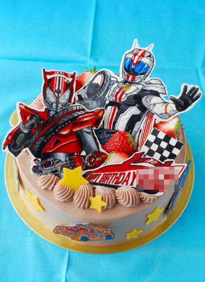 仮面ライダードライブの誕生日ケーキ_c0169657_01401466.jpg