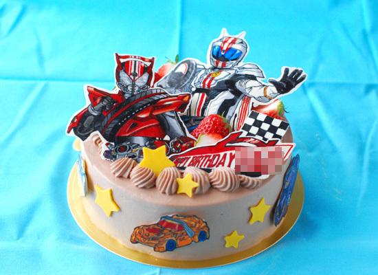 仮面ライダードライブの誕生日ケーキ_c0169657_01403504.jpg