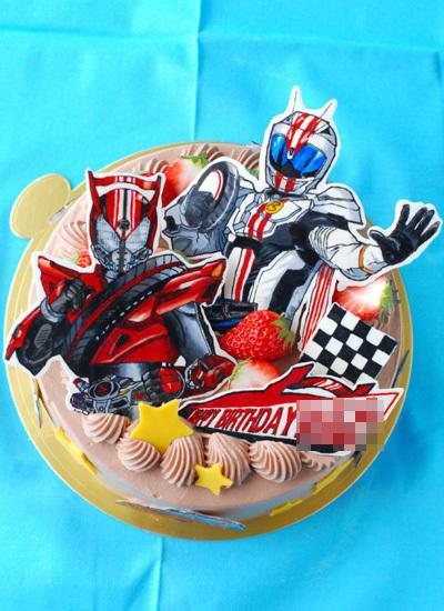 仮面ライダードライブの誕生日ケーキ_c0169657_01412857.jpg