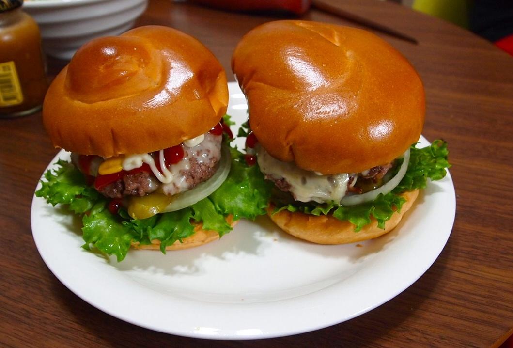 牛肉75%ハンバーガー_a0258686_6275992.jpg