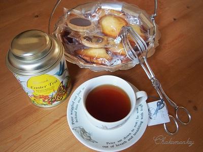 美味しいHarrodsのEaster Tea☆_f0238789_1171353.jpg