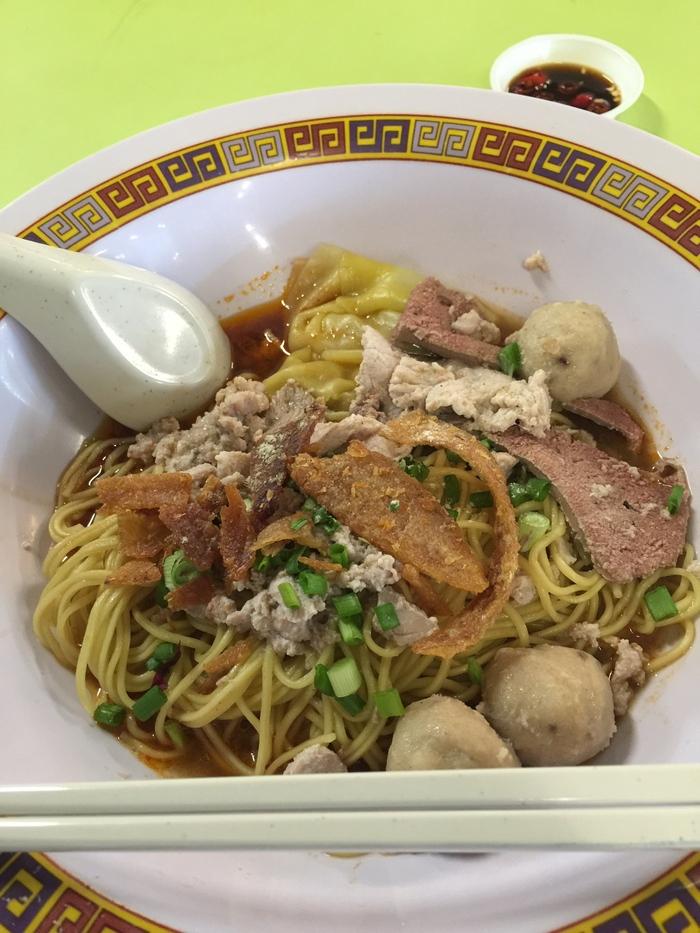 2015 3月 シンガポール (7) Hong Lim にて、め〜ん!! High Street Tai Wah Pork Noodle_f0062122_1973715.jpg