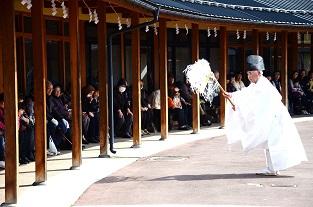 春祈祷神楽祭 南郷区島守_c0299631_043439.jpg
