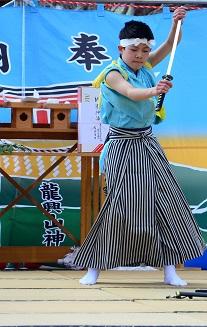 春祈祷神楽祭 南郷区島守_c0299631_0544953.jpg